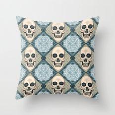 Cranial Couture Throw Pillow