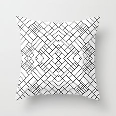 PS Grid 45 Throw Pillow
