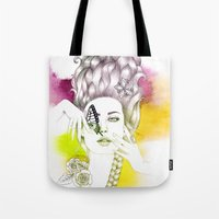 Butterfly Lady Tote Bag