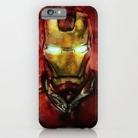 iPhone Cases featuring Iron Man by SachsIllustration