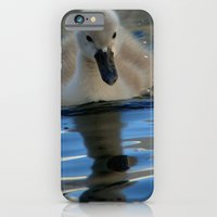 iPhone & iPod Case featuring The ugly duckling by Leffan