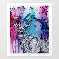 Oh my 'deer' Art Print