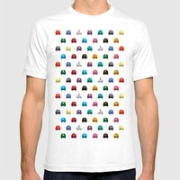 Cool Colorful Megaman He… Mens Fitted Tee White SMALL