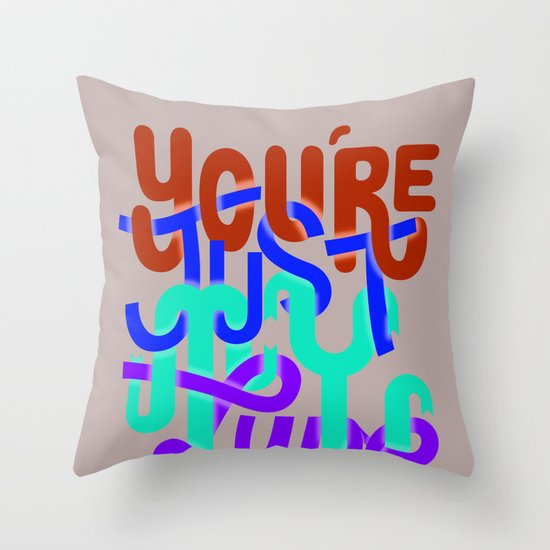 You're just my type Throw Pillow