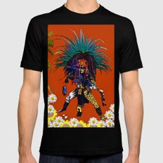 Men: The Mayan Warrior P… Mens Fitted Tee Black SMALL