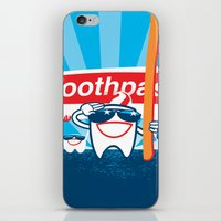 Teeth on Parade iPhone & iPod Skin