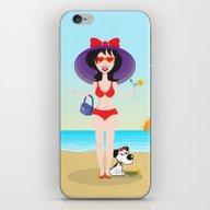 Martini Girl iPhone & iPod Skin