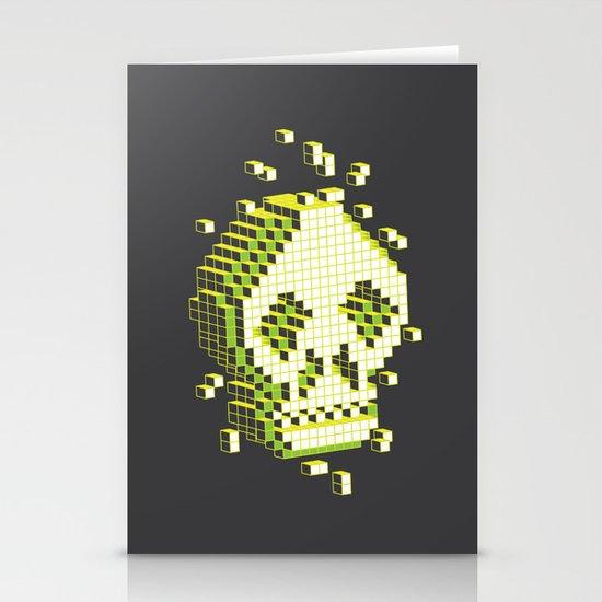 pixelation Stationery Card
