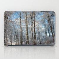 Snowy Winter Forest iPad Case