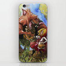 Red Hood iPhone & iPod Skin