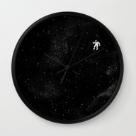 Wall Clock featuring Gravity by Tobe Fonseca