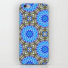 Liquid Blue Kaleido Pattern iPhone & iPod Skin