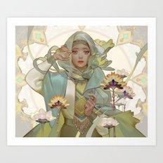 citrine Art Print