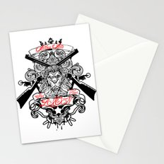 Stop Your Lion Stationery Cards