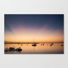 Key Largo Sunset Canvas Print