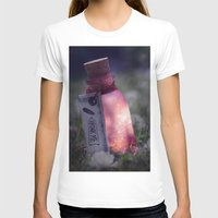 Drink me poison Womens Fitted Tee White SMALL