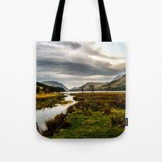 Feeding the waters Tote Bag