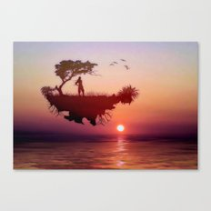 LANDSCAPE - Solitary sister Canvas Print