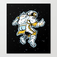 ASStronaut Canvas Print
