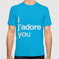 I/you Mens Fitted Tee Teal SMALL