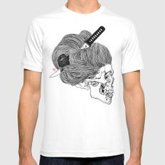 A Lady From Japan Mens Fitted Tee SMALL White