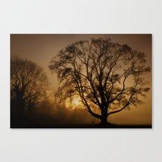 Humbleton Sunset 2011 Canvas Print