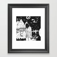 Dunno Framed Art Print