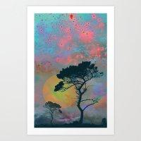 Dream Forest Art Print