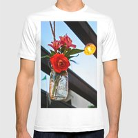 Outdoor Decor Mens Fitted Tee White SMALL