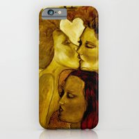 iPhone & iPod Case featuring The Lovers by Chantal Poppy Elwood