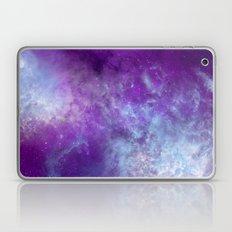 Purple Cloud Nebula Watercolor Universe Laptop & iPad Skin