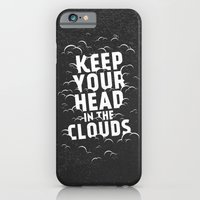 iPhone & iPod Case featuring Keep Your Head in the Clouds by Zeke Tucker