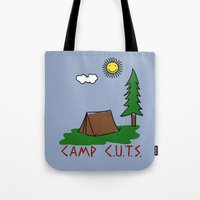 Camp C.U.T.S. Tote Bag