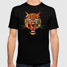 jaguar Mens Fitted Tee Black SMALL