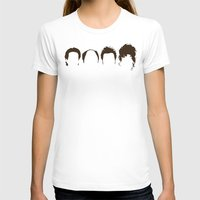 hair T-shirts featuring Seinfeld Hair by Bill Pyle