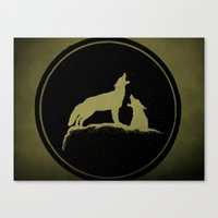 The Howling Canvas Print