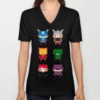 Pixel Avengers Unisex V-Neck