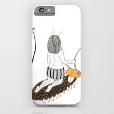 Topless Lady Riding a Roach iPhone 6 Slim Case