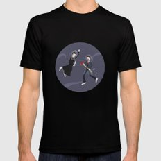 Game Name #6 SMALL Mens Fitted Tee Black