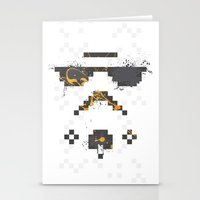 8-bit Trooper Stationery Cards