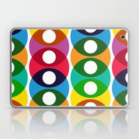 Geometric bubbles Laptop & iPad Skin
