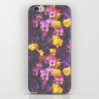 Violets And Pearls iPhone & iPod Skin