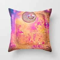 Empty sink abstraction Throw Pillow