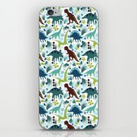 Dinosaur Days iPhone & iPod Skin