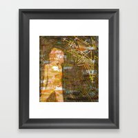 Dissonant Daphne And The… Framed Art Print