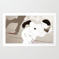 Bloody Skating - Ad Victoriam Art Print