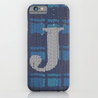 Winter Clothes. Letter J… iPhone 6 Slim Case