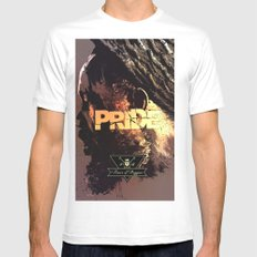 Pride & Reggae Mens Fitted Tee SMALL White