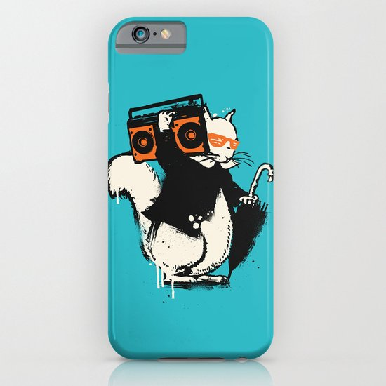 Boombox squirrel iPhone & iPod Case