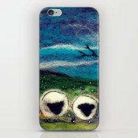 Highland Sheep iPhone & iPod Skin